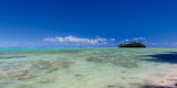 Island in the Pacific Ocean, Rarotonga, Cook Islands Photographic Print by  Panoramic Images