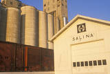 Close Up of Grain Silos, Salina, KS Photographic Print