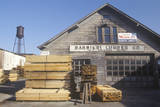 A Lumber Yard in Great Barrington, Massachusetts Photographic Print
