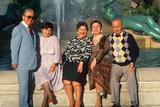 New American Citizens from Albania, Logan Square Fountain, Philadelphia, Pennsylvania Photographic Print