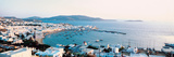 White Houses and Aegean Sea Mykonos Isl Greece Photographic Print by  Panoramic Images