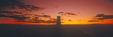 Lighthouse at Sunset, Peggy's Cove, Nova Scotia Photographic Print
