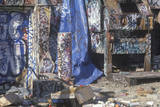 Graffiti Covering an Area Off Sunset Boulevard in Los Angeles Photographic Print