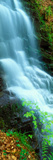 Water Falling from Rocks, Aberfeldy, Perthshire, Scotland Photographic Print by  Panoramic Images