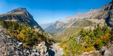 View from the Going-To-The-Sun Road, Glacier National Park, Montana, USA Photographic Print by  Panoramic Images
