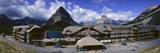 Lodge at Many Glacier, Glacier National Park, Montana Photographic Print