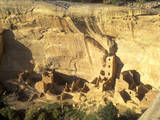 Anasazi Indian Ruins, Mesa Verde National Park, Colorado Photographic Print