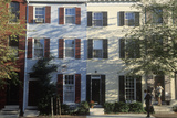 Three Story Row Houses in Philadelphia, Pennsylvania Photographic Print