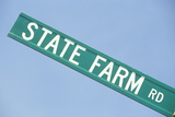 "A Sign That Reads ""State Farm Rd"" Photographic Print"