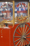 Red Pretzel CArt, Fisherman's Wharf in San Francisco, CA Photographic Print