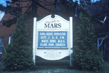 "A Sign That Reads ""Welcome to Mars"" Photographic Print"
