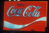 """A Sign That Reads """"Coca-Cola"""" Photographic Print"""