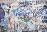 Graffiti on a New York City Wall Photographic Print