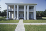 Exterior View of Gamble Mansion and Plantation State Historic Site in Ellenton, FL Photographic Print
