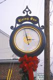Rising Sun Clock, Cecil County, Maryland Photographic Print