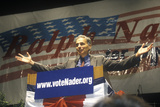 Ralph Nader Speaking from Podium at 1992 CAmpaign Rally at Long Beach Arena, CA Photographic Print