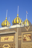 Onion Domes and Corn Mosaics, the Corn Palace in South Dakota Photographic Print