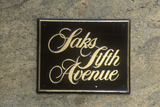 "A Sign That Reads ""Saks Fifth Avenue"" Photographic Print"
