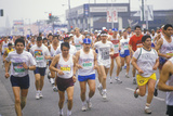 Women's Starting Line at La Marathon, CA Photographic Print