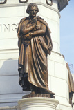 Detail on Statue of Thomas Jefferson at Richmond, Virginia Photographic Print