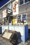 Exterior of Shop, Fishing Village, Point Judith, Ri Photographic Print