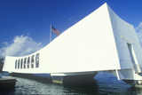 USS Arizona Memorial Museum, Pearl Harbor, Oahu, Hawaii Photographic Print