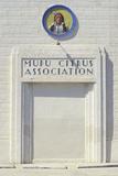 "A Sign That Reads ""Mupu Citrus Association"" Photographic Print"