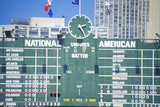 Scoreboard at Wrigley Field, Chicago Photographic Print