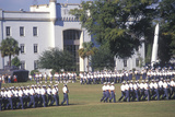 Review of Cadets, the Citadel Military College, Charleston, South Carolina Photographic Print