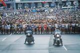 Women's Starting Line at NY City Marathon, NY Photographic Print