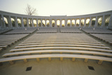 Inside View of Arlington Memorial Theater at Sunset, Washington, D.C. Photographic Print