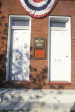 Birthplace of Babe Ruth and Site of Baltimore Oriole Museum, Baltimore, MD Photographic Print
