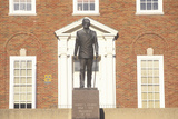 Statue of Harry S. Truman at the Entrance to the Independence, Mo Courthouse Photographic Print