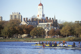 Rowing Race, Charles Regatta, Cambridge, Massachusetts Photographic Print