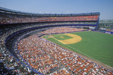 Infield of a Major League Baseball Game Photographic Print
