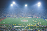Evening at the Rose Bowl Game Photographic Print