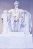 The Lincoln Memorial Sculpture, Washington, DC Photographic Print