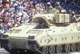 Military Tank in Desert Storm Victory Parade, Washington, D.C. Photographic Print