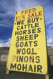 "A Sign That Reads ""Feed for Sale"" Photographic Print"