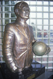 Statue at Springfield, Ma Basketball Hall of Fame Photographic Print