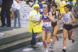 Marathon Winner Grete Waitz, Ny City Photographic Print