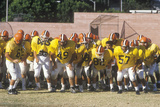 Junior League Football Practice, Beverly Hills High School, Los Angeles, CA Photographic Print