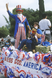 Float in July 4th Parade, Ojai, California Photographic Print
