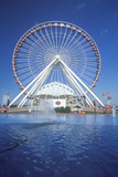 Ferris Wheel, Navy Pier, Chicago, Illinois Photographic Print
