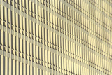 Vertical Pattern on Concrete Building Photographic Print