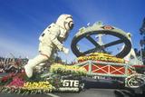 Spacemen Float in Rose Bowl Parade, Pasadena, California Photographic Print