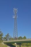 Cellular Telephone Transmission Tower, Route 95 Virginia Photographic Print