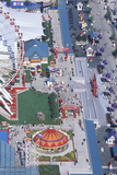Aerial View of Navy Pier, Chicago, Illinois Photographic Print