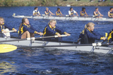Female Rowing Race, Charles Regatta, Cambridge, Massachusetts Photographic Print