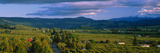 This Is the Hood River Valley. it Is the Valley View with Mount Hood in the Background Photographic Print